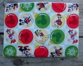 Disney Christmas, Zippered Pouch, Ready to Ship