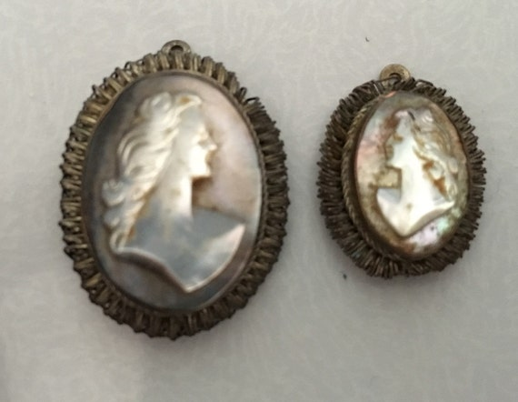 Mother of Pearl Cameos