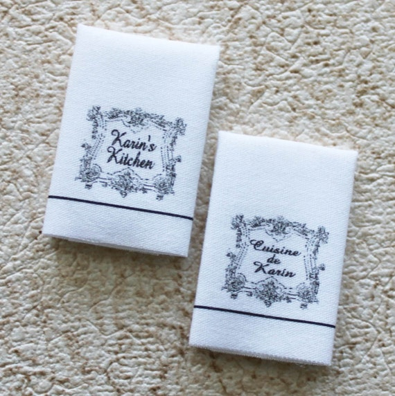 Tea Towels Unique: Miniature Custom Tea Towels With Your Choice Name Or Words In