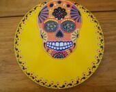 Sunshine Yellow Skull Wal...