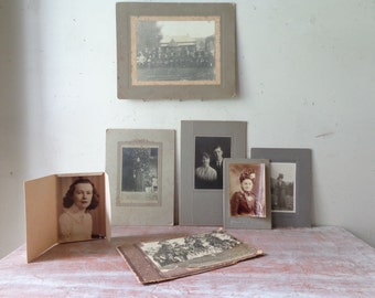 VIntage Collection of 7 photographs - People