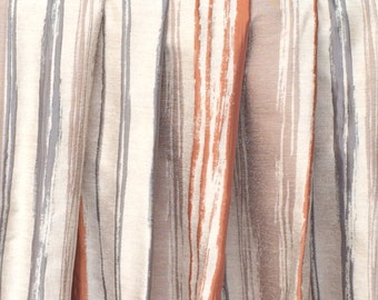 rusty stripes curtain drapes custom curtain panels window curtains valance bedroom curtains window treatments door curtains