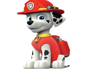 7 Paw Patrol Cut Outs For Centerpieces Cardstock