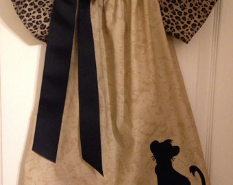 Lion King inspired dress with embroidered name