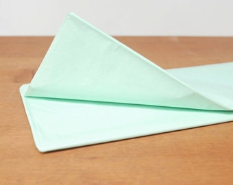 mint tissue paper: mint gift wrap, tissue, stuffing