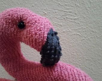 Amigurumi Flamant Rose : Articles similaires ? Le flamant rose, amigurumi, flamingo ...