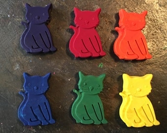 Kitty crayons