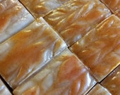 Fresh Spiced Peaches Soap Sweet Peachy Natural Colorant: Paprika Pier One Type Cobbler and Black Tea