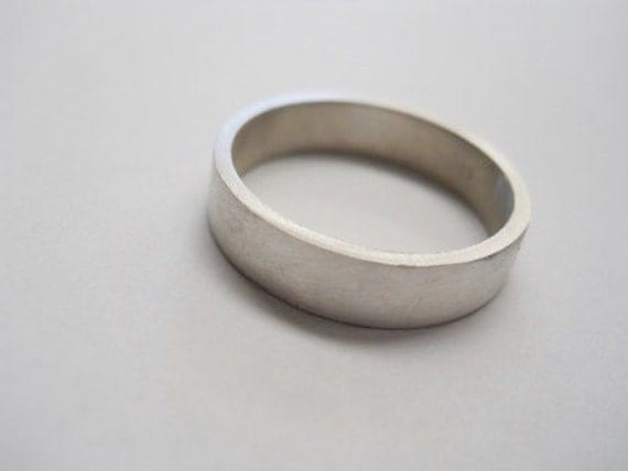 mens ring 5mm wide mens band wedding ring 5mm wedding band modern wedding ring