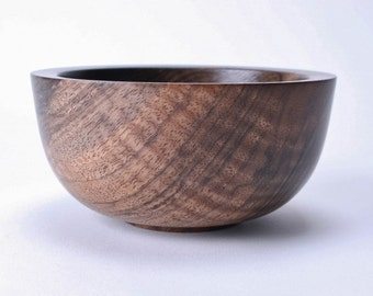 "Black Walnut Wooden Bowl #1511 5"" X 2 1/2"""