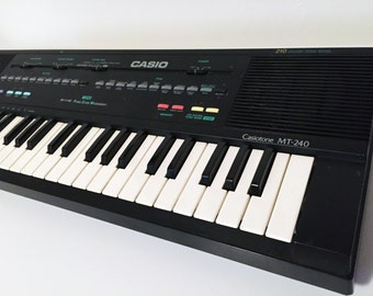 Vintage Casio MT-240 Keyboard Midi Synthesizer Circuit Bending 1980s Excellent