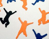 Jump Confetti Die Cut, Jumping Kids, Trampoline Party,Table Sprinkles Party Decor