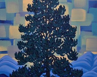 "Kootenay, 18""X24"", Original Painting, Canadian Artist, Ready to Hang, Gallery Canvas"