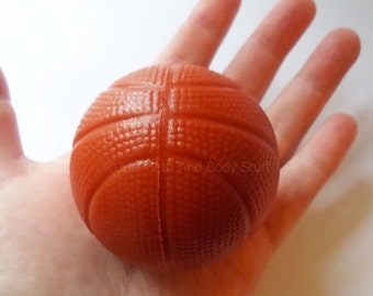 Basketball 3D Round Soap Bar - You pick scent & color