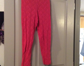 Lace leggings Cinema etoile small/may fit medium