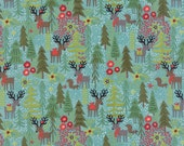 Reindeer Games in Winter Sky  30430-13 - JUNIPER BERRY by Basic Grey for Moda Fabrics - By the Yard