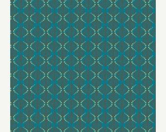 SALE - Terra Stamps Smoke  (RHA-504) - RHAPSODIA - Pat Bravo for Art Gallery Fabrics - By the Yard