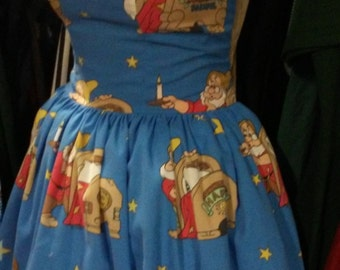 Custom made to order 7 Dwarfs Sweet Heart Pin Up Geekery dress
