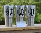 Personalized Ozark Trail 30 oz. Tumbler, Stainless Steel Cup, Vinyl Decal, Personalized Tumbler, Monogrammed Tumbler, Ozark Trail Cup