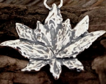 SALE - 10% off Large Sterling Silver Lotus Charm  - Thousand Petal Lotus - Rustic Yoga Charm 30mm AP43