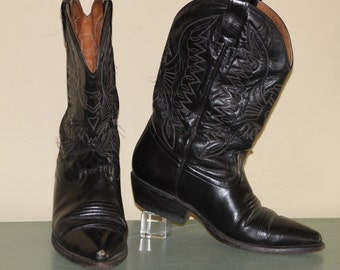 Western Jornada Blk Cowboy Boots