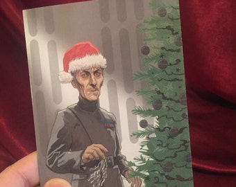 Star Wars Grand Moff Tarkin Christmas Card