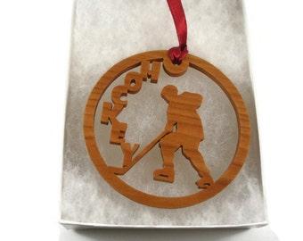 Wood Hockey Stick Etsy