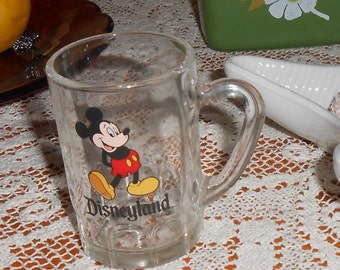 Mickey Mouse Disneyland Mini Mug Taiwan