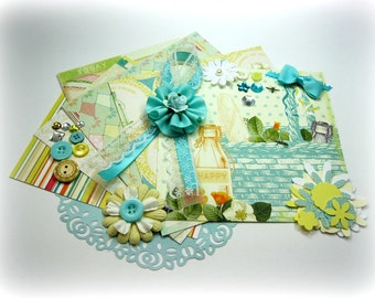 Webster's Pages Sunday Picnic Embellishment Kit Inspiration Kit for Scrapbook Layouts Cards Mini Albums Tags and Paper crafts 1