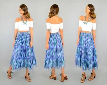 Guatemalan IKAT Skirt