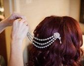 Wedding hair chain wedding hair vine wedding hair band wedding headband wedding hair piece wedding headpiece wedding hair accessories bridal