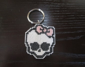 Monster High Skull Key Ring