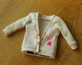 cardigan  for Blythe, Licca, 1/6 22cm doll