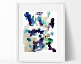watercolor art,  abstract, Prints,  watercolor print,  art print,  watercolor art,  giclee print,  watercolor painting,  archival print, art
