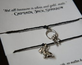 Pirates of the Caribbean inspired friendship wish bracelets!