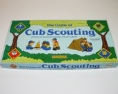Game of Cub Scouting – Boy Scouts – Vintage Board Game - Cadaco No. 502 - 1987 - Boy Scouts