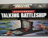 Electronic Talking Battleship - Classic Naval Combat Game Milton Bradley 1989 - Complete & Working
