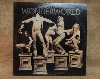 Uriah Heep - Wonderworld - 1974 Vintage Vinyl Record Album