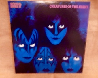 Kiss - Creatures of the Night - 1982 Vintage Vinyl Record Album