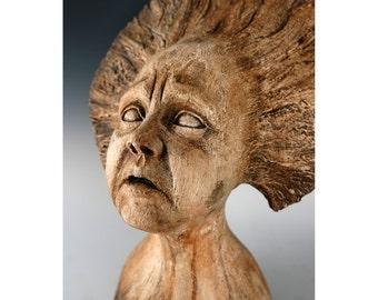 Sadness - Ceramic - Sculpture - Figurative - Fine Art
