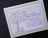 Pet Sympathy and Courage Card