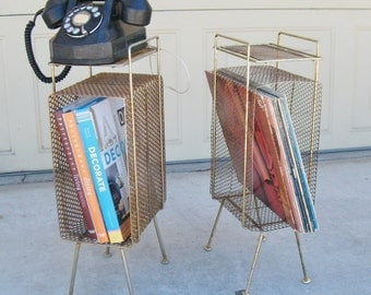 Mid Century Telephone Stands by Maurice Duchin