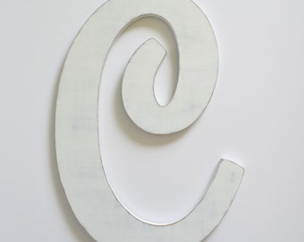 Letter C - 24 Inch Letter - Large Wooden Letters - Cut Out Letters
