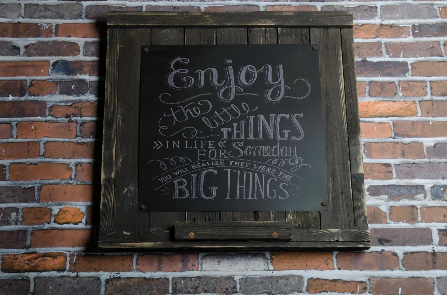 Magnetic Farmhouse Chalkboard Rustic Home