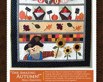 Autumn Wall Hanging Pattern designed by KimberBell