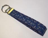 Nautical Anchor Key Fob, Key Chain, Key Ring, Gifts under 10, Purse Accessory