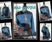 Up cycled Rez Hoofz Vintage Lee Jean Jacket size m