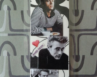 James Dean Collage Bookmark by Pepperland