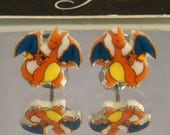 Charizard Stud Earrings - Pokemon Jewelry