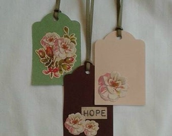 HOPE Gift Tag Set / Set of 3